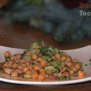 chickpeas, fennel and lardons