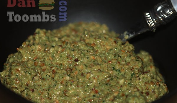 Sesame Seed and Coriander Chutney For Dosas