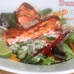 Tandoori Salmon Salad