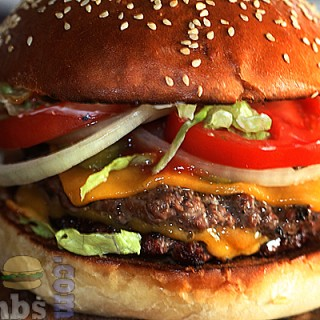 Homemade Burger King Double Whopper With Cheese