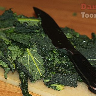 Pan Fried Cavolo Nero in Garlic and Chilli