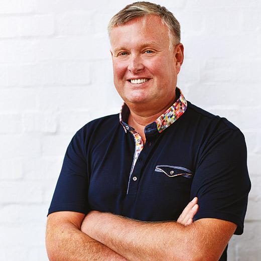 Cookbook author Dan Toombs