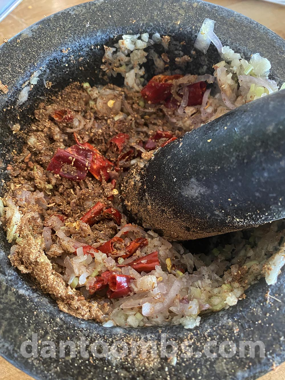 Adding ground spices