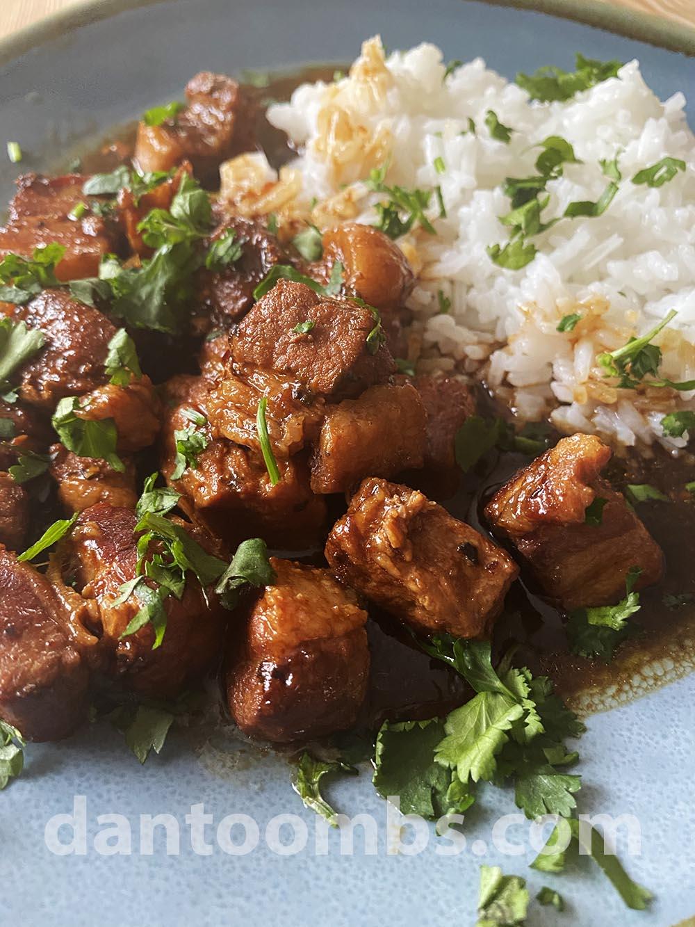 Moo hong - Thai pork belly stew