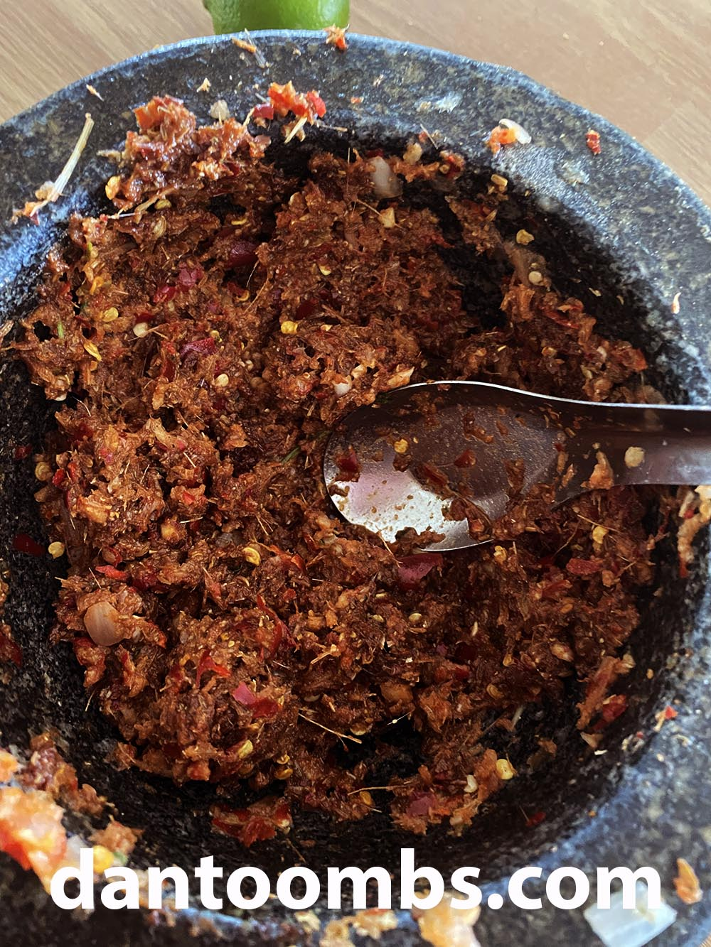 Thai red curry paste homemade