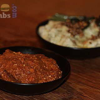 Fiery Hot Red Chilli Chutney For Dosas