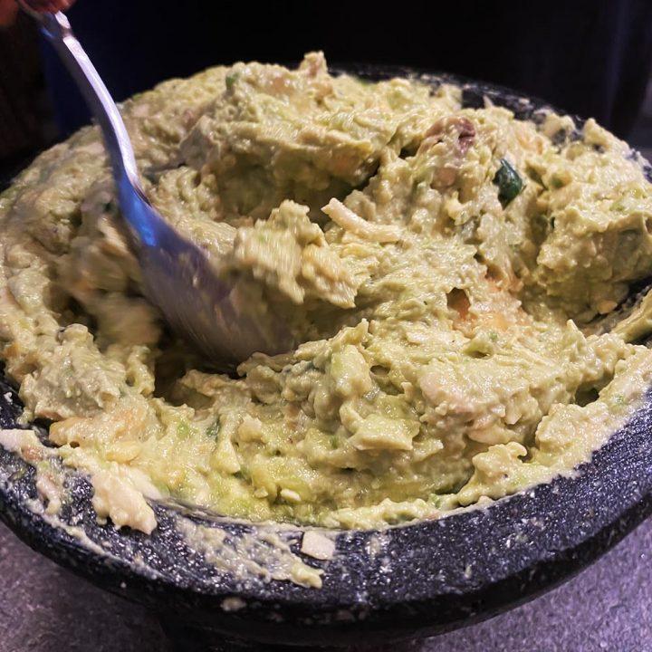 Finished guacamole